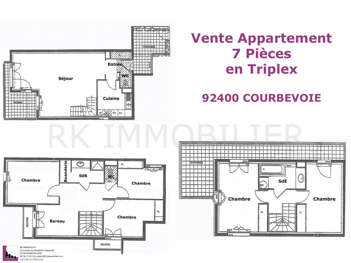 Appartement sur courbevoie for Acheter maison courbevoie