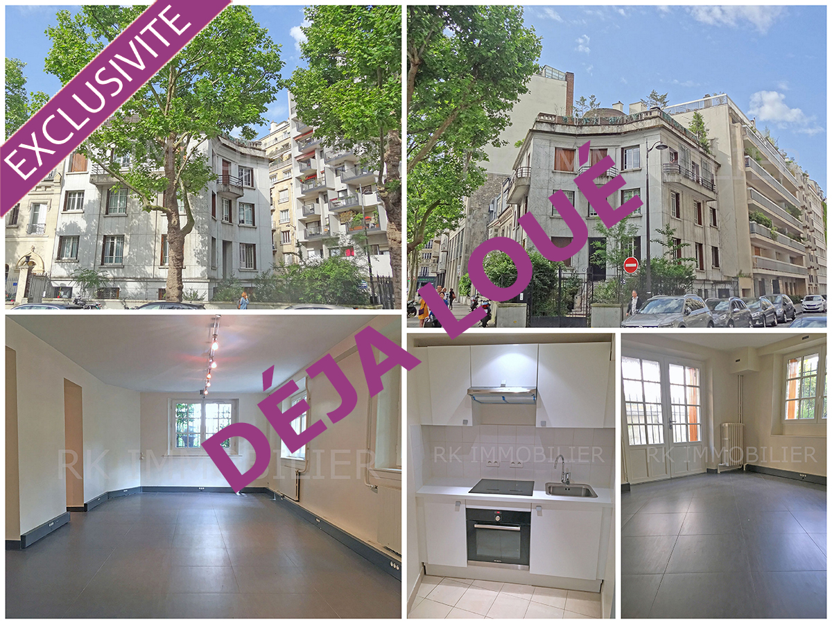 Appartement sur Paris 16